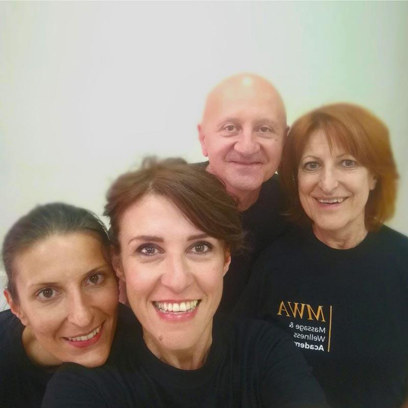 Lo staff della MWA - Corsi massaggio Torino